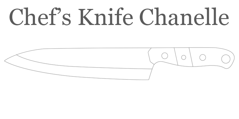 Chef's Knife Chanelle